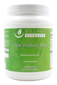 Vital Protein Plus - Creamy Chocolate - 24.20 oz Powder - Front