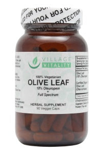 Olive Leaf - 90 Capsules - Front