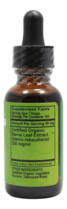 Organic Stevia - 1 oz - Supplement Facts