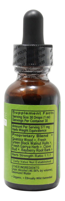 Parasite - 1 oz Liquid - Supplement Facts