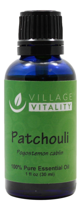 Patchouli Essential Oil - 1 oz - Front