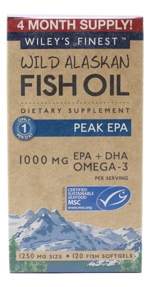 Peak EPA - 120 Softgels - Front