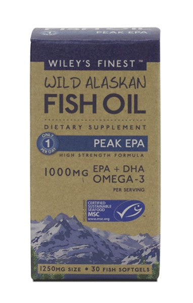 Peak EPA - 30 Softgels - Front