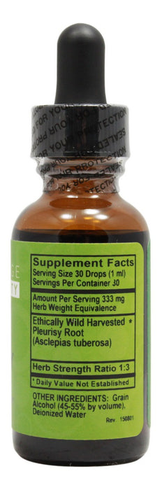 Pleurisy - 1 fl oz - Supplement Facts