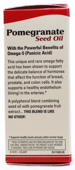 Pomegranate Seed Oil - 60 softgels