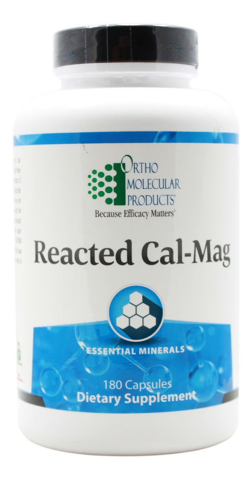 Reacted Cal-Mag - 180 Capsules - Front