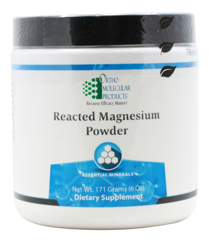 Reacted Magnesium Powder - 6oz - Front
