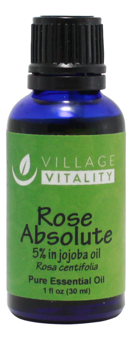 Rose Absolute Essential Oil - 1 oz - Front