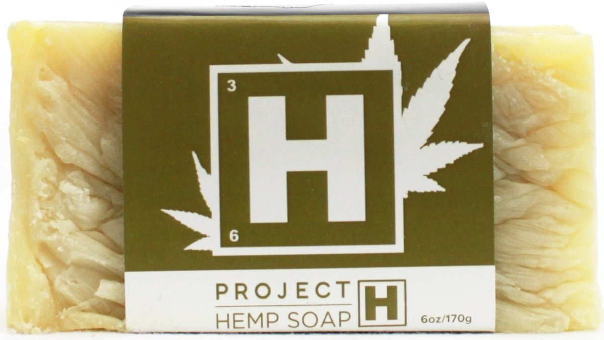 Project Hemp Soap - 6 oz Bar