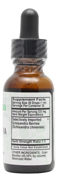 Schisandra - 1 oz Liquid - Supplement Facts