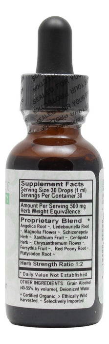 Sinus Relief - 1 oz Liquid - Supplement Facts