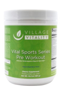 Vital Sports Series Pre Workout - 13.4 oz Powder - Front