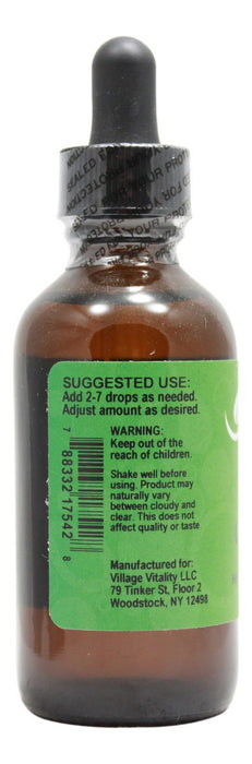 Stevia Chocolate Flavor - 2 oz Liquid - Info