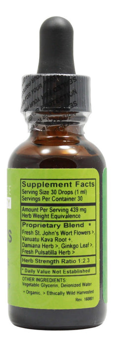 St. John's Tonic Alcohol Free - 1 oz Liquid - Supplement Facts