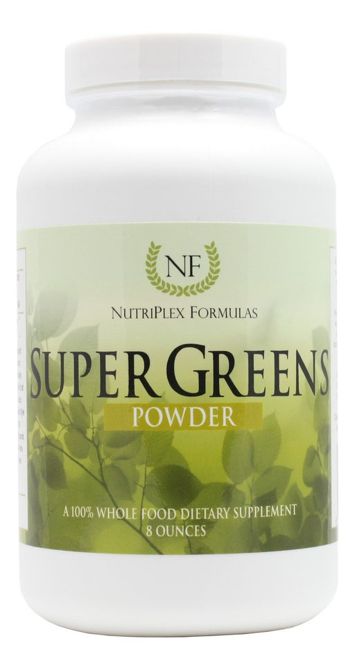 Super Greens - 8 oz Powder - Front