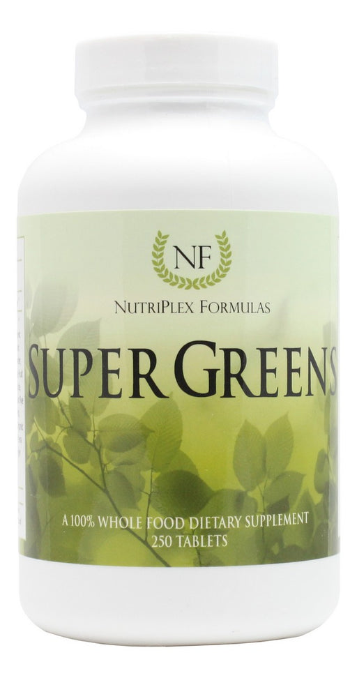 Super Greens - 250 Tablets - Front