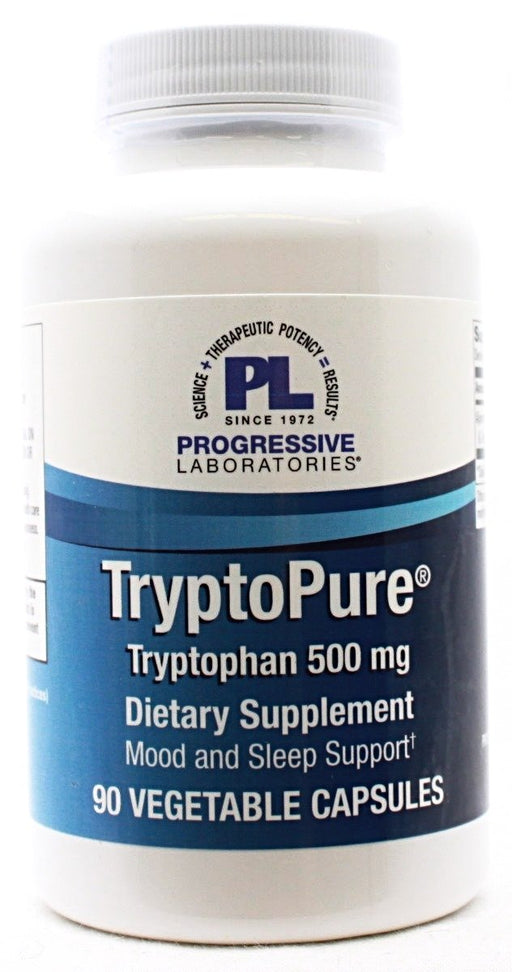 TryptoPure Tryptophan 500mg - 90 capsules