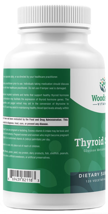 Thyroid Support - 120 Capsules