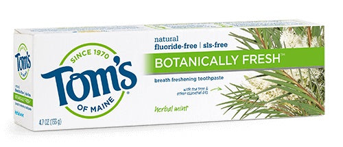 Botanically Fresh Herbal Mint Toothpaste - 4.7 oz