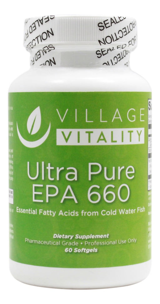 Ultra Pure EPA 660- 60 Softgels - Front