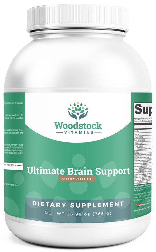 Ultimate Brain Support Chocolate- 26.98oz powder