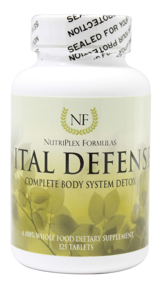 Vital Defense - 125 Tablets - Front