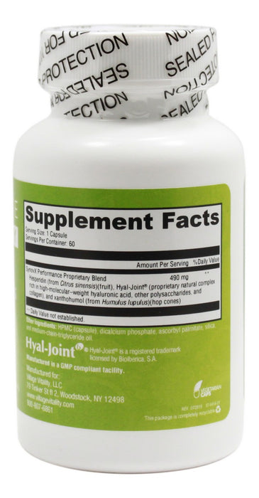 Vital Joint Series Integrity - 60 Capsules - Supplement Facts