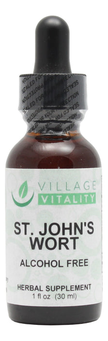 Village Vitality St. John's Wort (Alcohol Free) - 1 oz Liquid