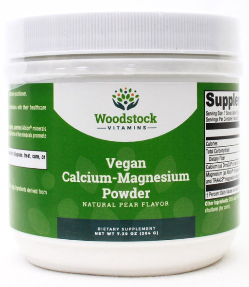 Vegan Calcium-Magnesium Powder - 7.20 oz