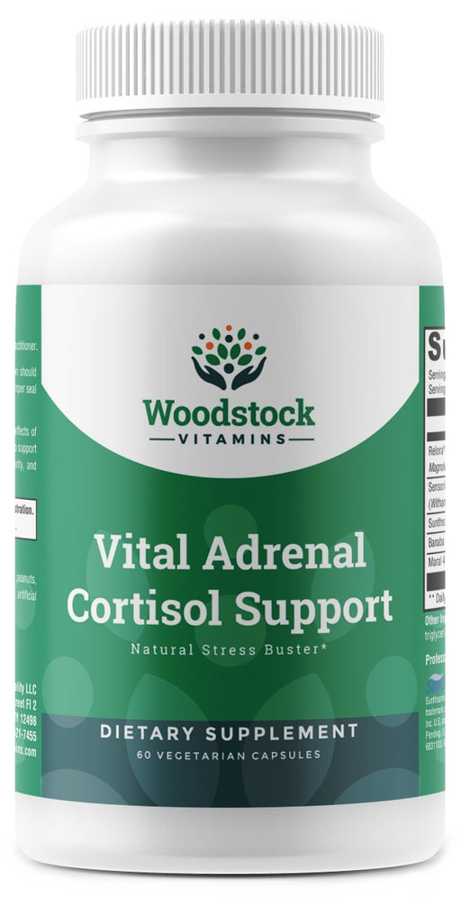 Vital Adrenal Cortisol Support - 60 Capsules