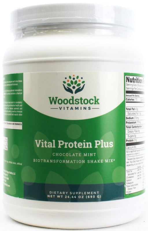 Vital Protein Plus - Chocolate Mint - 24.44 oz Powder