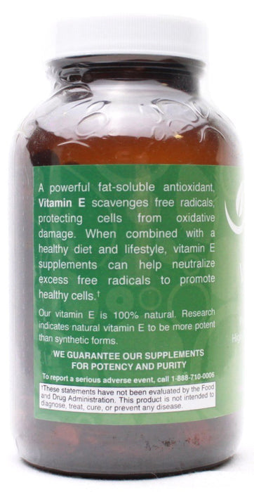 Vitamin E 1,000 I.U. Plus Mixed Tocopherols - 90 Softgels
