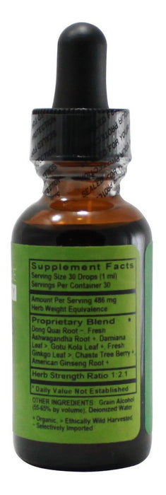 Woman's Energy Balance - 1 oz Liquid - Supplement Facts