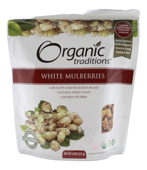 White Mulberries - 8 oz - Front