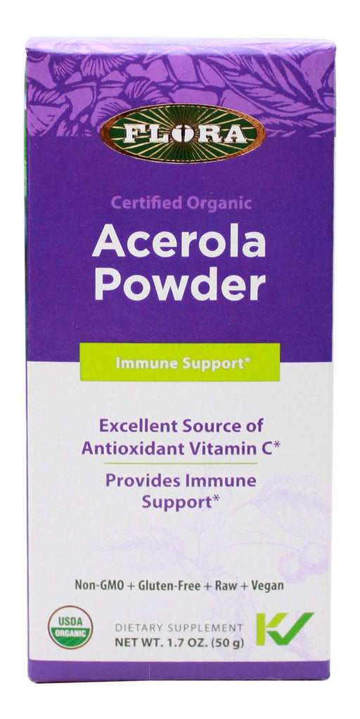 Acerola Powder - 1.7 oz - Front