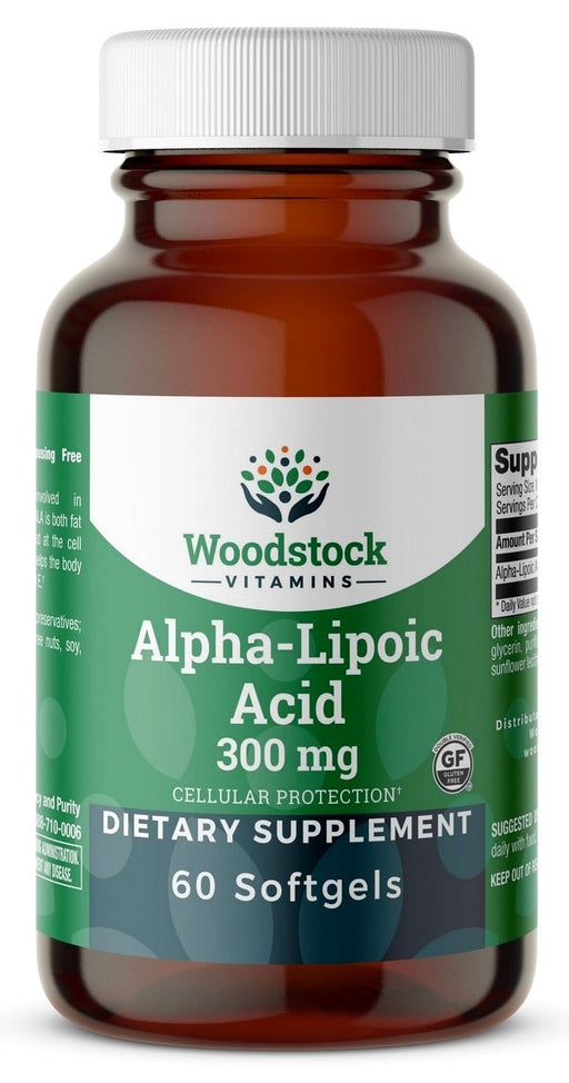 Alpha-Lipoic Acid 300mg - 60 Softgels
