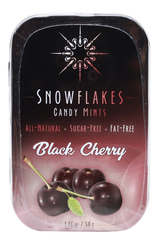 Black Cherry Snowflakes - 1.76oz - Front