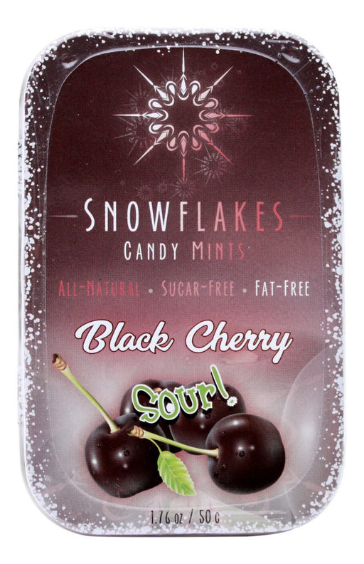 Black Cherry Sour Snowflakes - 1.76oz - Front