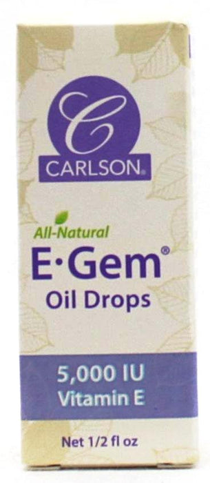 E GEM Oil Drops 5,000iu Vitamin E - 1/2oz