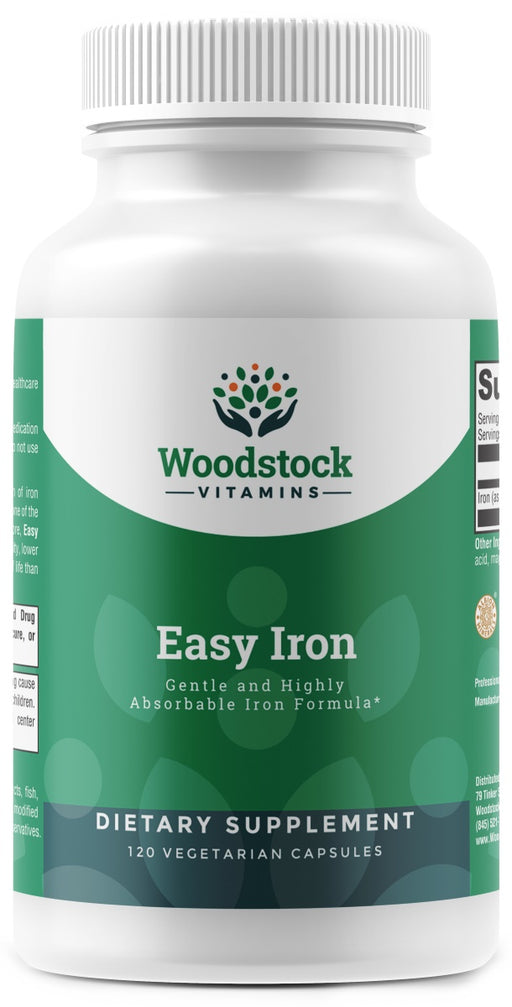 Easy Iron 29 mg - 120 Capsules