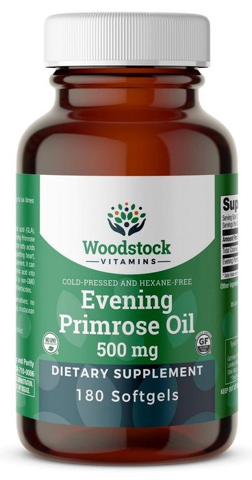 Evening Primrose Oil 500 mg - 180 Softgels
