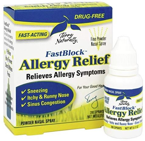 Fast Block Allergy Relief Nasal Spray- .17oz