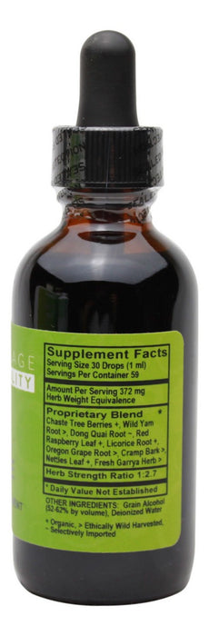 Fem-Cycle - 2 oz Liquid - Supplement Facts