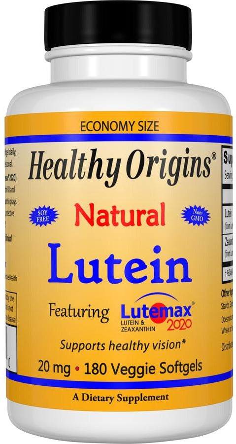 Lutein 20mg - 180 Softgels