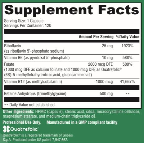 Homocysteine Support - 120 Capsules