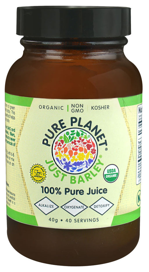 Pure Planet Just Barley Powder - 1.4 oz
