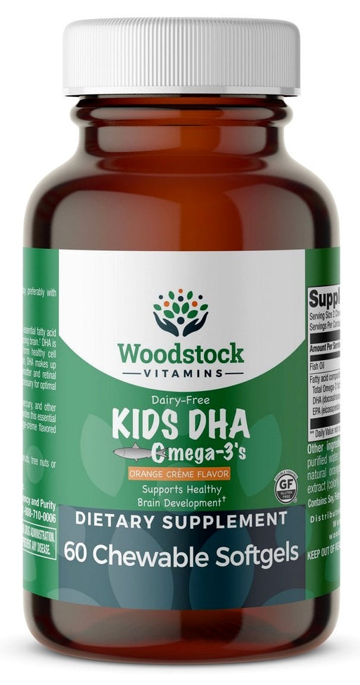 Kids DHA - 60 Chewable Softgels
