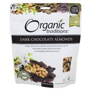 Dark Chocolate Almonds - 8 oz