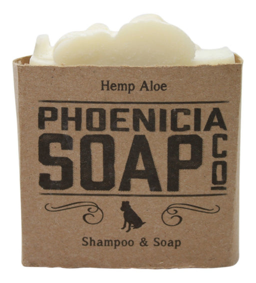Phoenicia Soap - Hemp Aloe - 1 Bar - Front