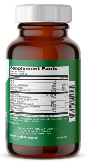 Prostate Support - 120 Softgels